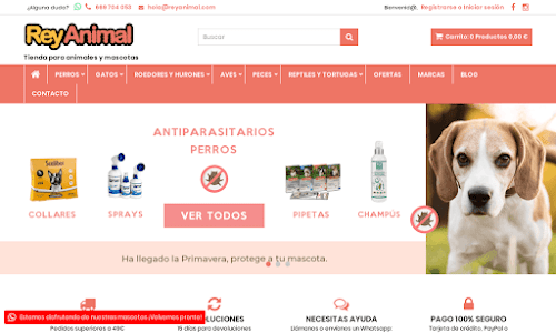 Rey Animal Alimentación para animales