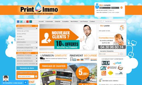 Printimmo, imprimeur en ligne de qualité Fourniture et mobilier