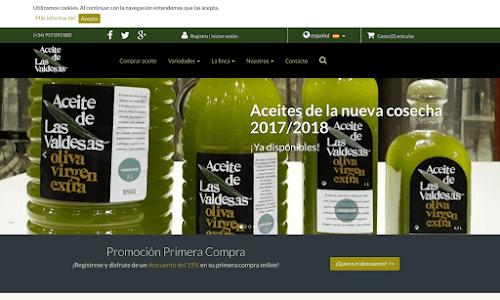 Las Valdesas, Aceite de oliva virgen extra