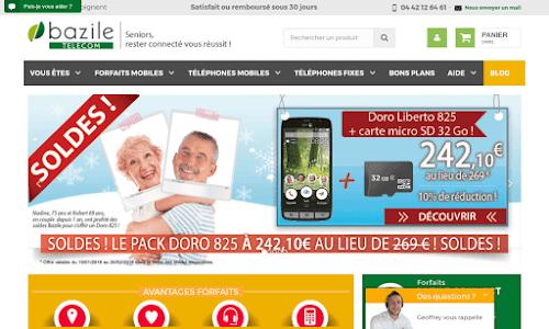 Bazile Télécom Téléphone mobile