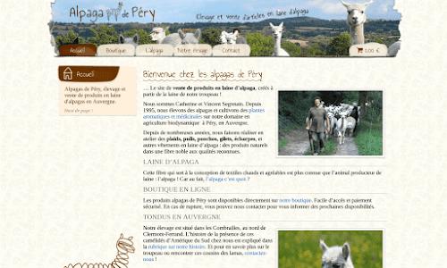 Alpaga de Péry