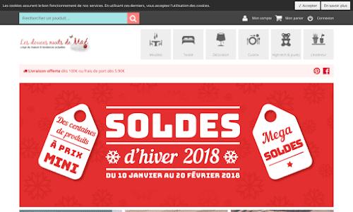 Linge de maison stores rideaux boutique en ligne - Linge de maison en ligne ...