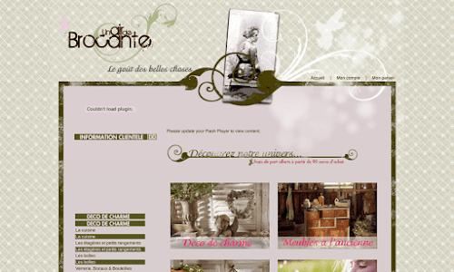 Un Air de Brocante : Boutique en ligne de meubles et de décoration Mobilier