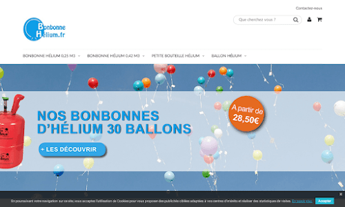 Bonbonne-helium