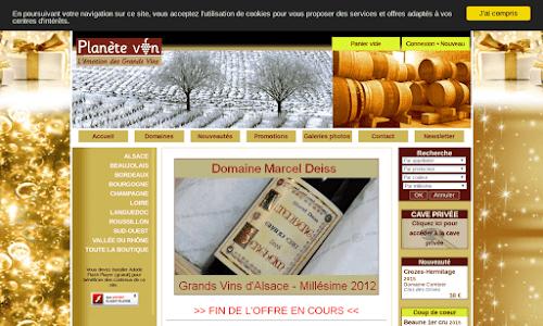 Planetevin Alcool, vin et spiritueux