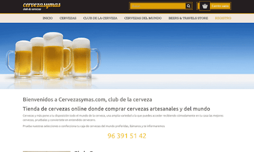 Cervezas y mas