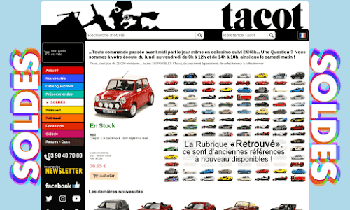 Tacot : vente de voitures miniatures Collection et miniature