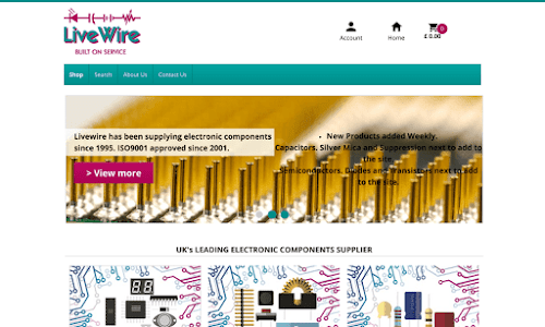 LiveWire Electronic Components Supplies