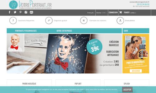 votreportrait.fr : créations et impressions personnalisées Décoration