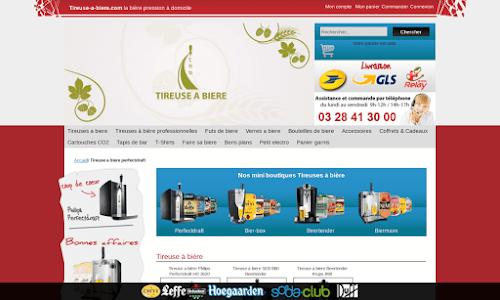 Tireuse à biere.com