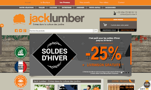 Accessoires et outillage de jardin boutique en ligne for Boutique jardinage en ligne