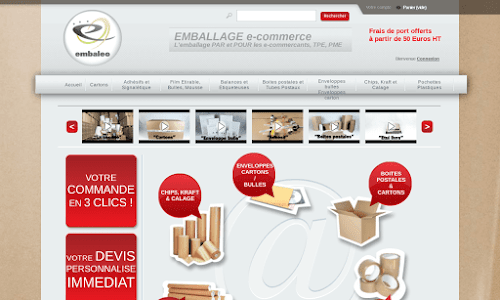 Emballage e-commerce Fourniture et mobilier