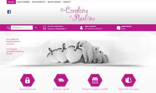 Les cordons de Pauline Bijoux