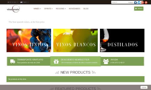 Vinosensis - comprar vino Alcohol, vinos y licores