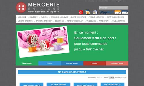 Mercerie en ligne