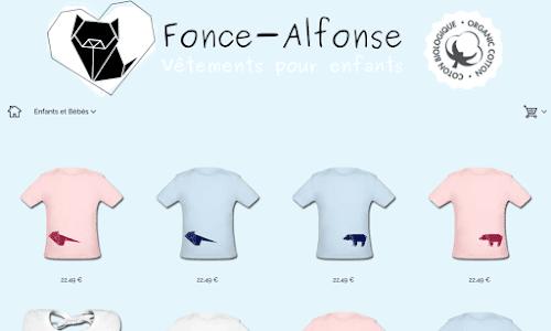 Vêtement enfant bio Alphonse Mode Enfant