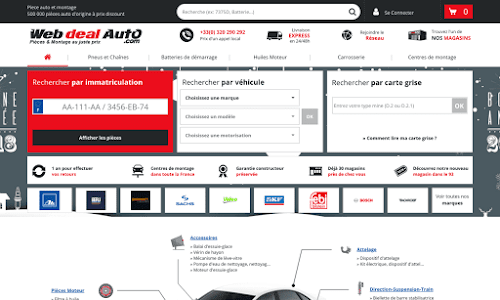 webdealauto.com pieces detachees pour l'automobile
