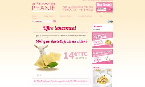 Les pâtes fraîches de Phanie