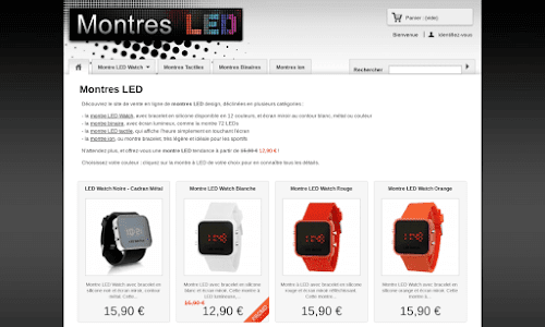 Montres LED