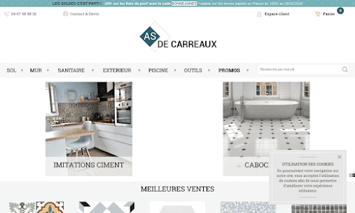 As de carreaux Décoration