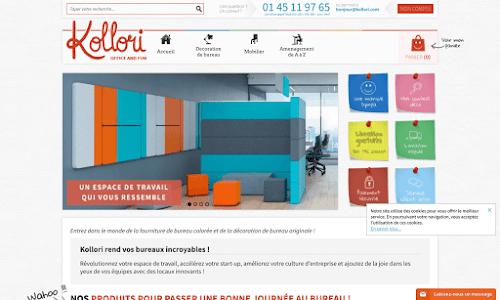 Fournitures de bureau color es et d co entreprise for Fourniture de bureau en ligne