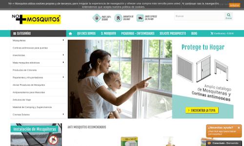 No + Mosquitos - Tienda online articulos antimosquitos