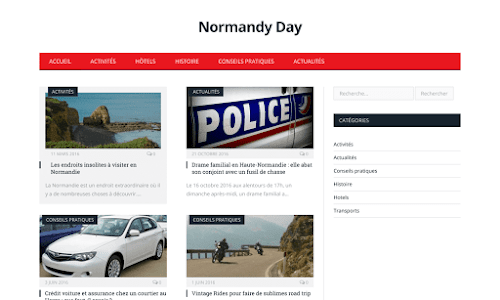Normandy Day Loisir