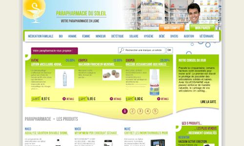 Para pharmacie du soleil en ligne