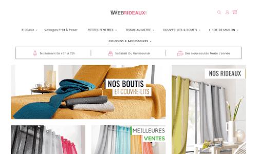 Web-Rideaux Décoration