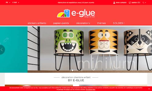 e-glue // design adhésif pour enfants