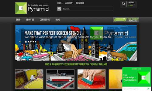 Pyramid Screen Products Furniture and equipment