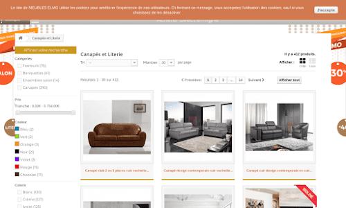 Canapé Literie Canapés & fauteuils