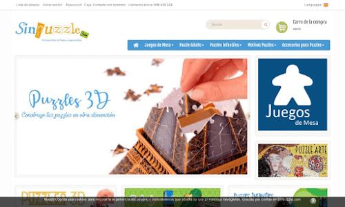 Tienda online de puzzles, juegos de sociedad y, juguete en general