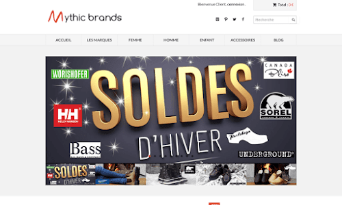 Mythic Brands Chaussures