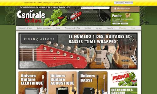 Centrale Guitars Musique