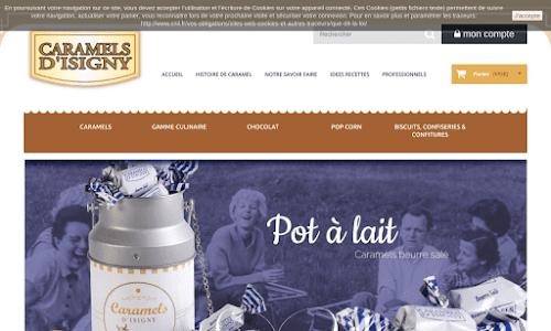 Caramels d'Isigny Confiserie et chocolat