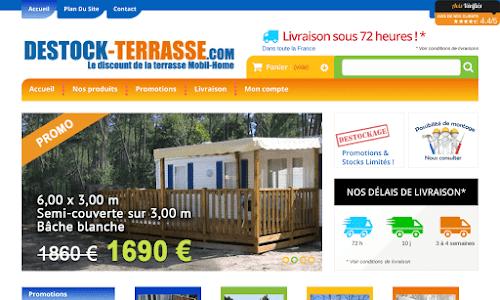 Destock-Terrasse Mobilier de jardin