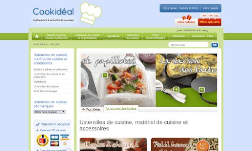Ustensiles de cuisine cookid al boutique en ligne for Materiel de cuisine en ligne