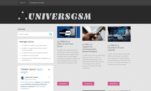 Univers GSM