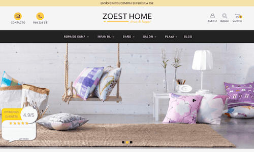Zoest Home Decoración