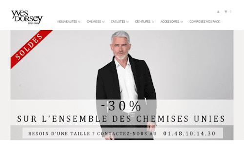 Yves Dorsey Mode Homme