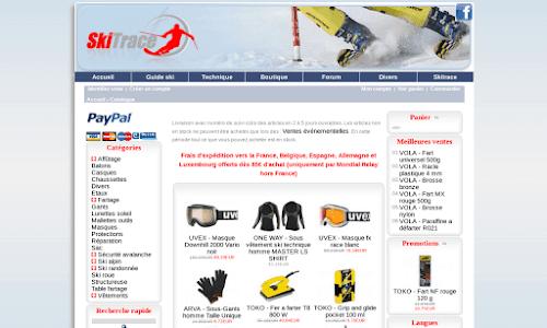 Fart et matériel de ski : SkiTrace