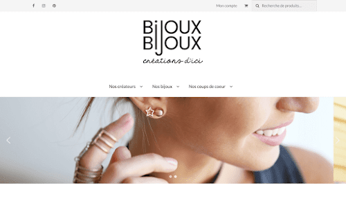 Bijoux de fantaisie et bijoux artisanaux en ligne Bijoux