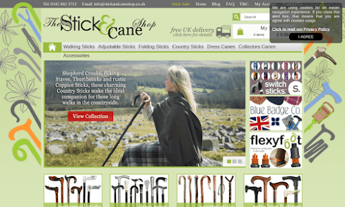 The Stick and Cane Shop Fashion accessories
