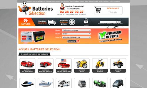 Batteries Sélection Pièces détachées