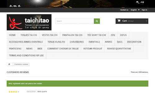 Taichitao : Kimonos