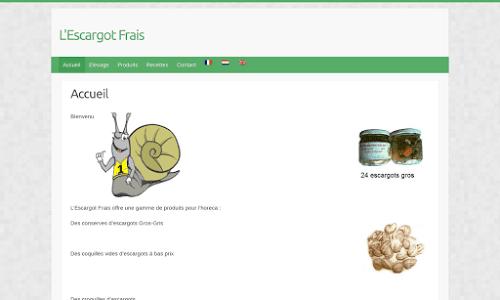 Escargots frais Produits du terroir