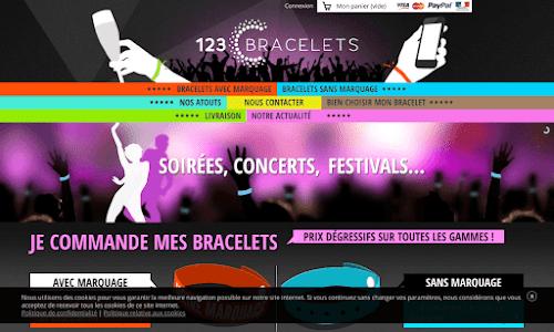 123 Bracelets Loisir