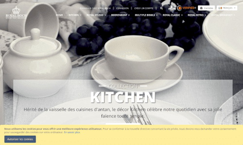L'e-shop de Royal Boch Arts de la table