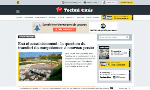 Technicités, revue technique des collectivités territoriales